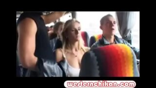 Jane Darling Groped on the Bus !