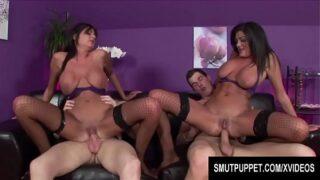 Smut Puppet – Twins Kit and Kat Lee Compilation Part 2